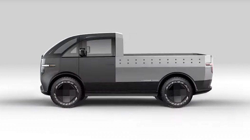 Canoo pickup