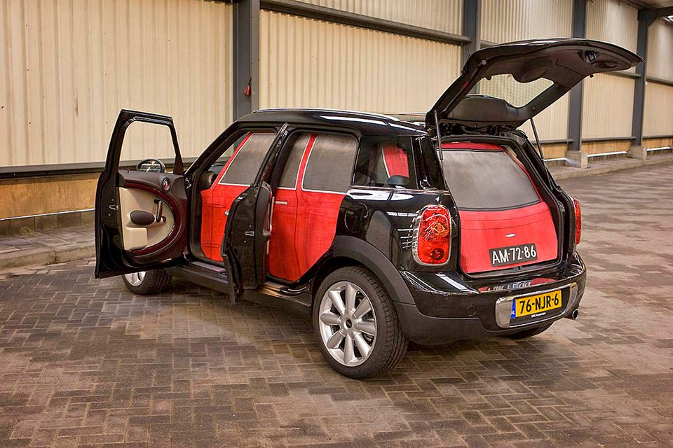 An Original Mini Fits Inside Todays Mini Countryman