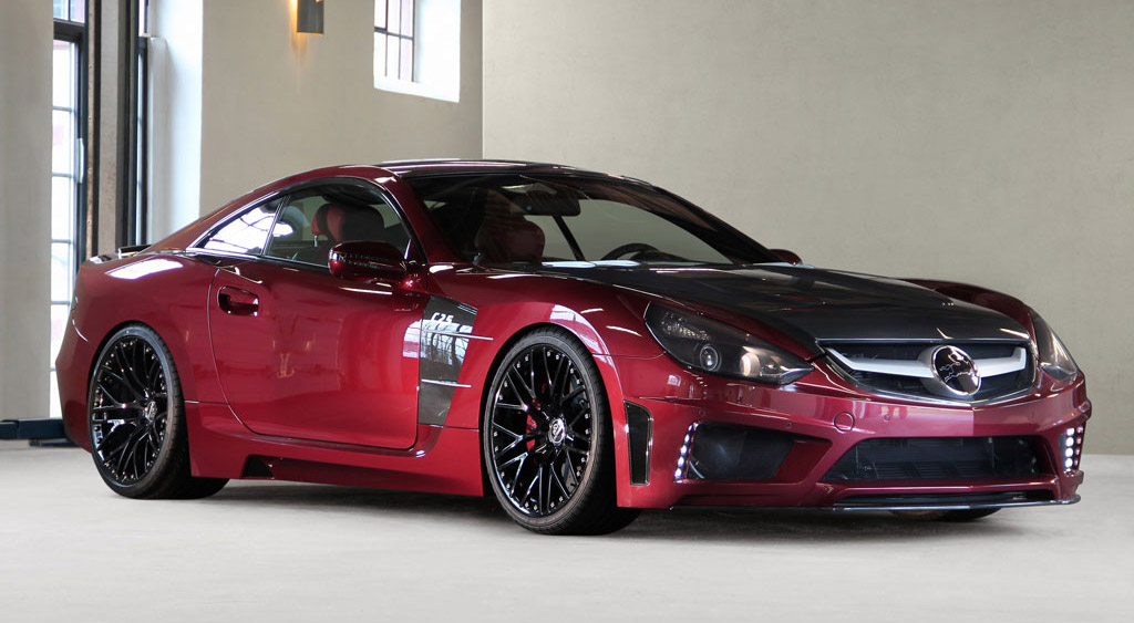 Carlsson C25 Royale Based On The Mercedes Benz Sl 2011
