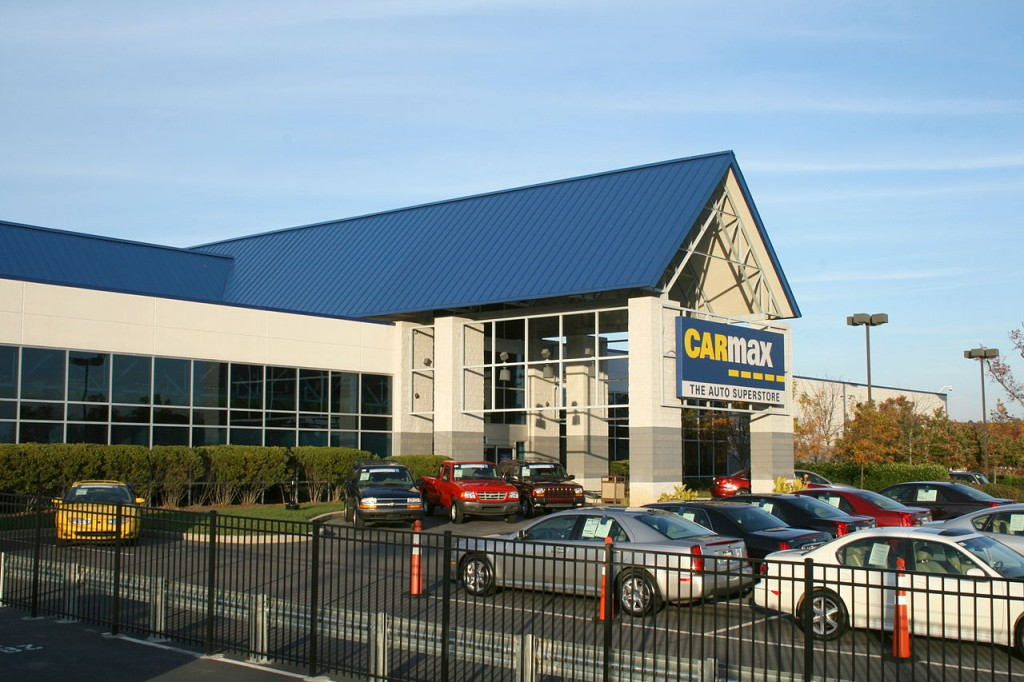 CarMax auto superstore in Raleigh, North Carolina (pic by Ildar Sagdejev)