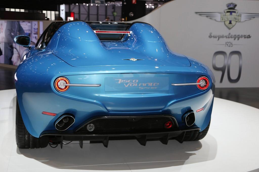 Carrozzeria Touring Superleggera Alfa Romeo Disco Volante Spyder, 2016 Geneva Motor Show