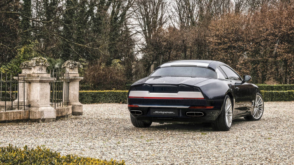 Touring Superleggera returns with Maserati-based Sciadipersia