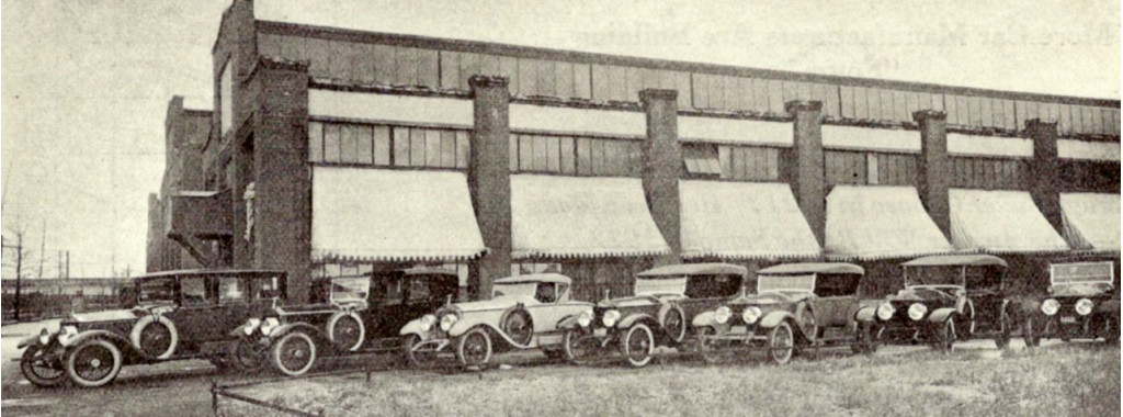 Cars ready for delivery in 1922