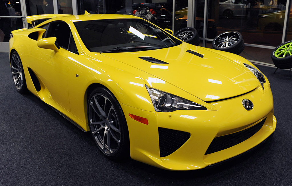 Delightful ... Lexus Sport Car Yellow At Design. Charmant MotorAuthority