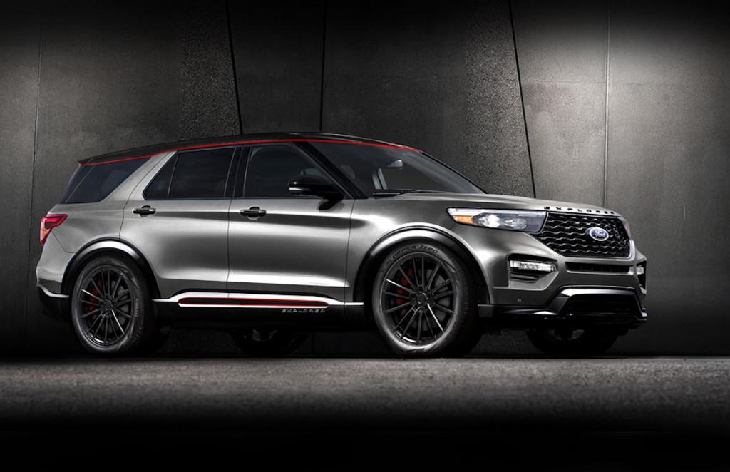 New Escape and Explorer get the aftermarket treatment just in time for SEMA
