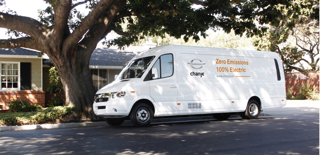Chanje medium-duty electric truck