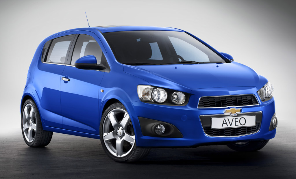 2012 Chevrolet Aveo Paris Motor Show Production Version Preview
