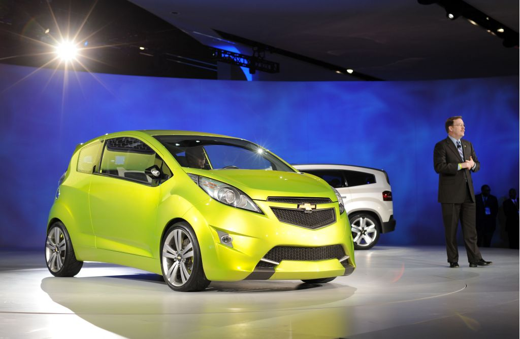 Chevrolet Beat Concept Introduction at 2009 NAIAS
