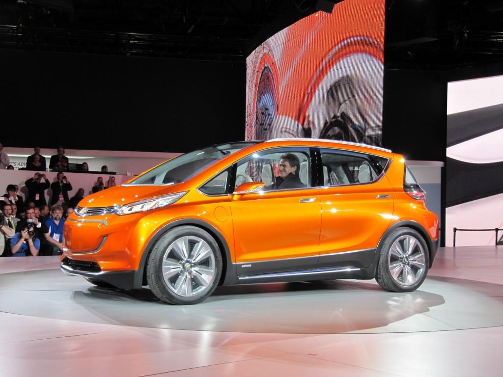 Chevrolet Bolt Concept Mile Electric Car Concept