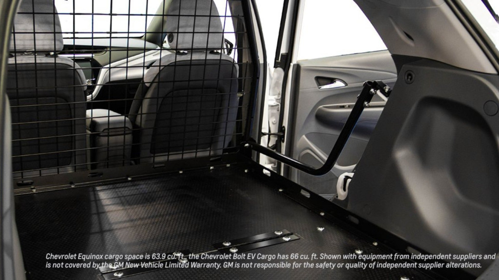 Chevrolet Bolt EV cargo van conversion