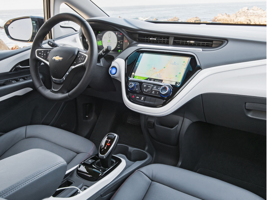 Chevrolet Bolt EV with Apple CarPlay