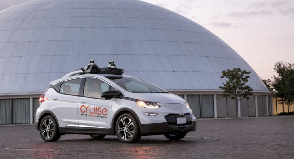 GM Cruise AV self-driving car