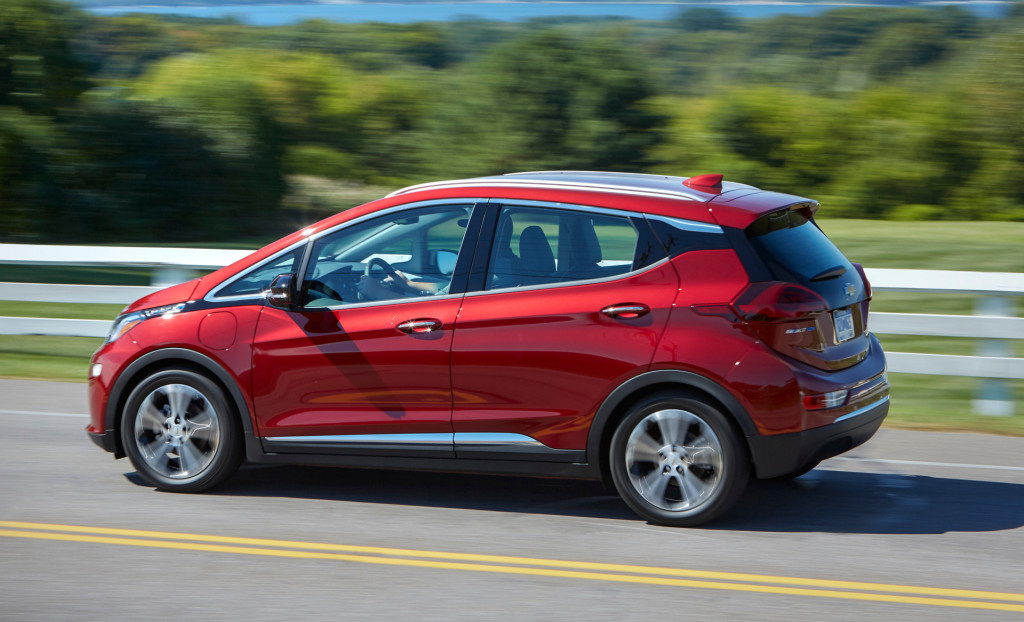 2020 Chevrolet Bolt EV gets 259 miles of range, nudges past Kona Electric