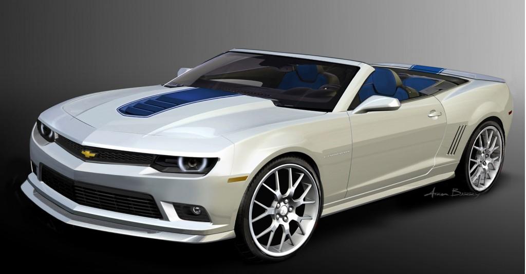Chevrolet Camaro Spring Special Edition concept, SEMA 2013