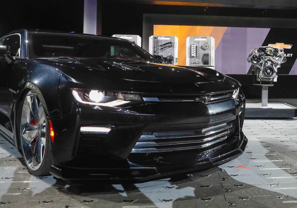 Chevrolet Camaro SS Slammer concept, 2016 SEMA show