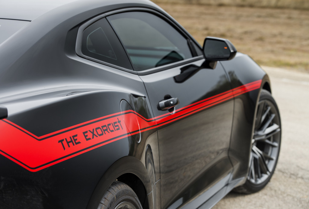 Hennessey Exorcist Chevrolet Camaro ZL1 tops out at 217 MPH