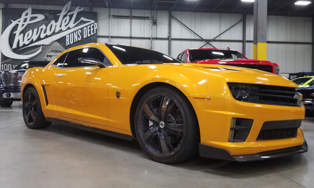 Bumblebee Chevrolet Camaro from 'Transformers: Dark of the Moon'