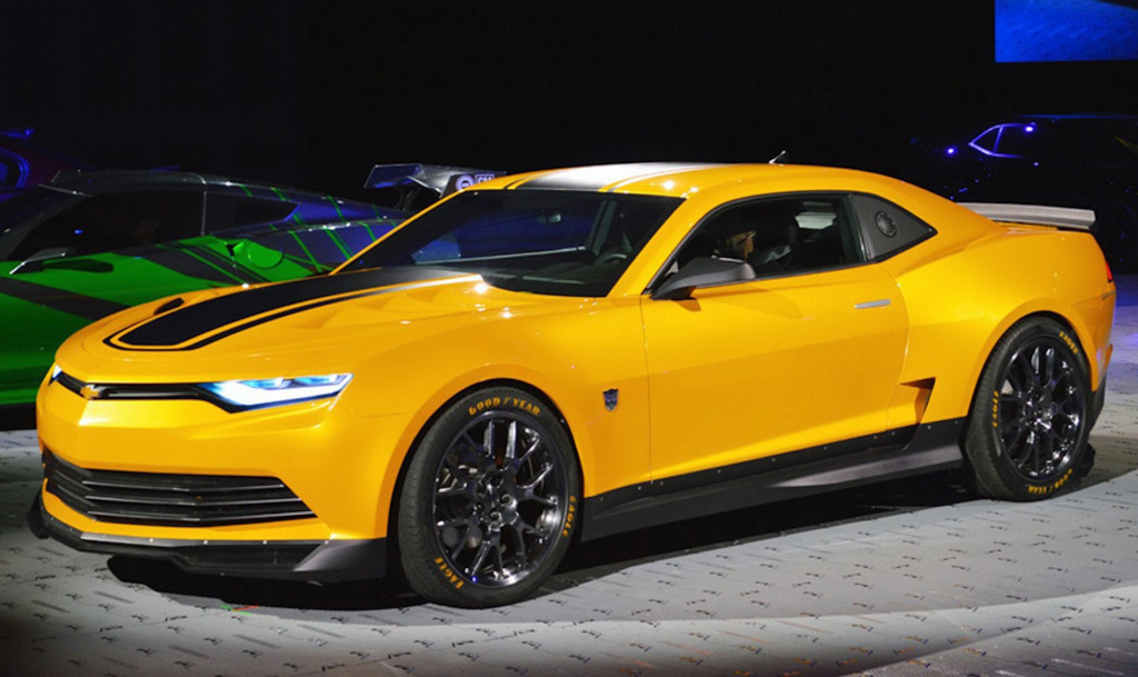 Bumblebee Chevrolet Camaro from 'Transformers: Age of Extinction'