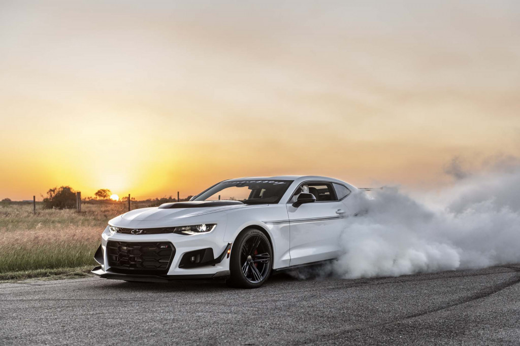 The Resurrection Hennessey 1,200-hp Chevrolet Camaro ZL1 1LE