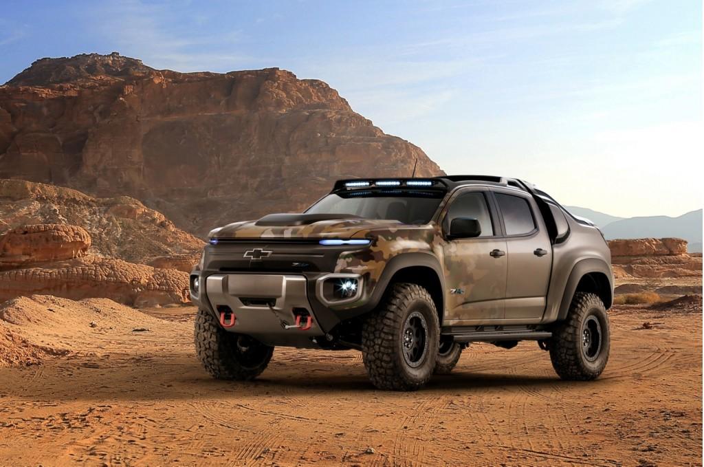 Chevrolet Colorado ZH2 hydrogen fuel-cell vehicle