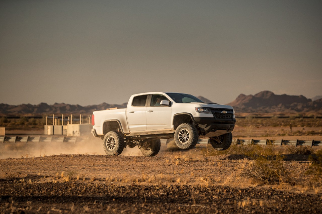Chevrolet Colorado ZR2 Race Development Truck
