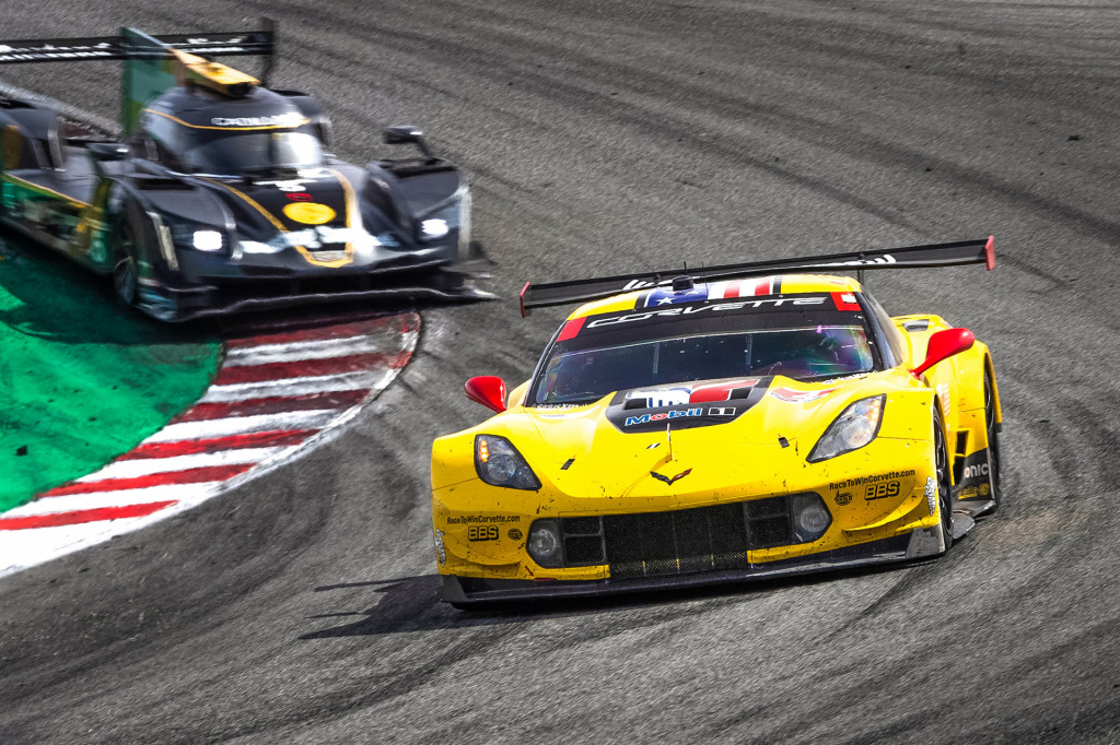 The era of front-engine Corvettes in motorsport is over