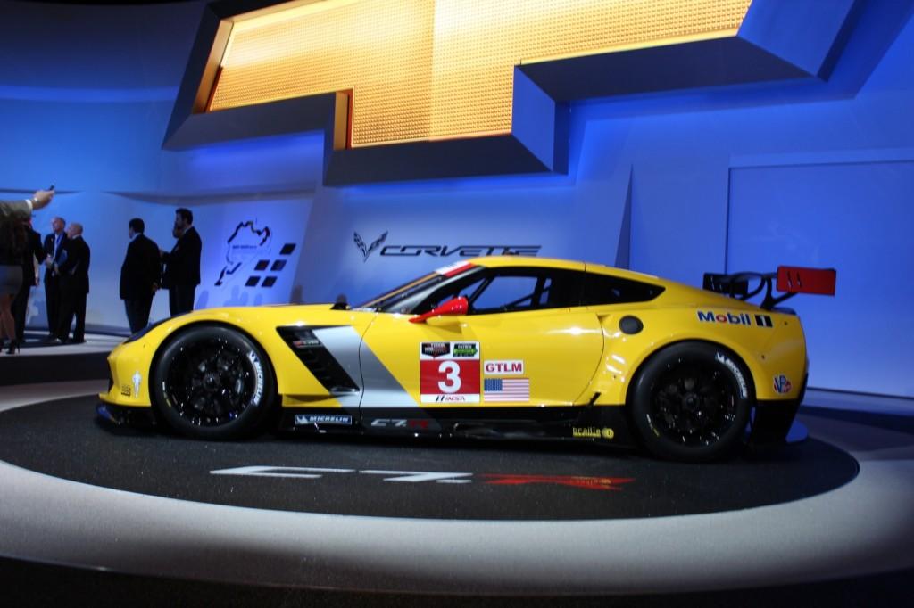 Image: Chevrolet Corvette C7R race car - live photos, 2014 ...