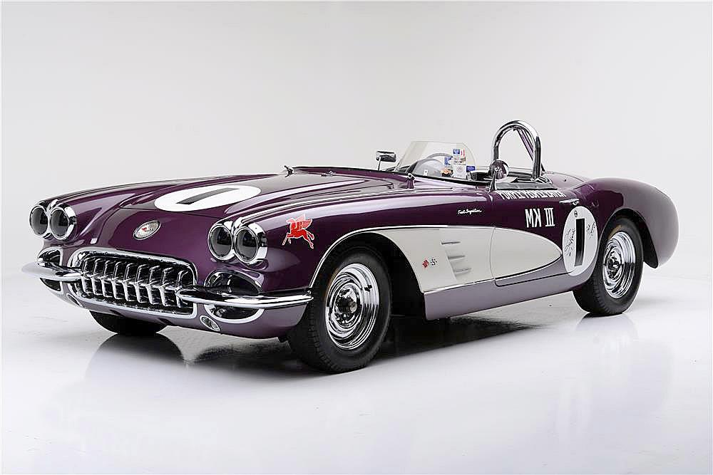 Purple People Eater Corvette Races To Auction