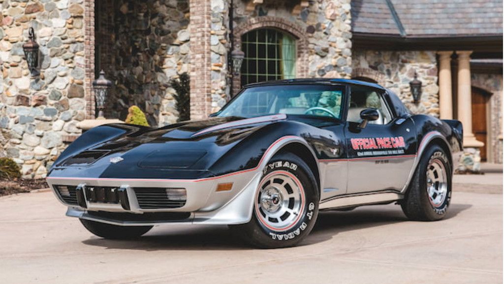 One Mans Chevy Corvette Indy 500 Pace Car Collections Heading To