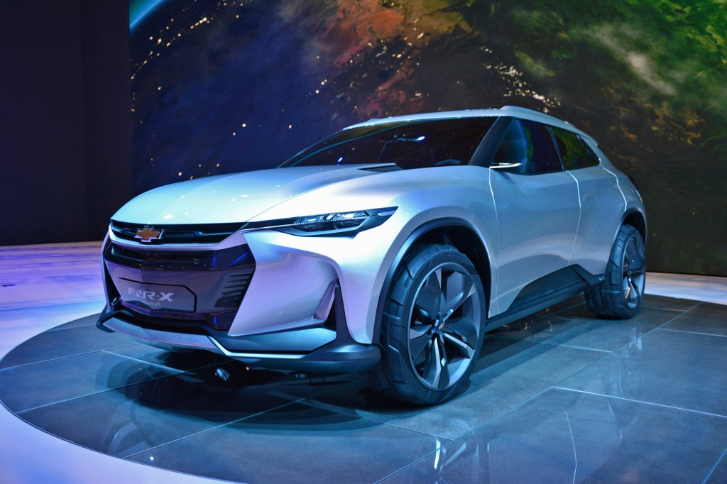Image: Chevrolet FNR-X Concept for plug-in hybrid crossover, 2017 Shanghai auto show [photo ...