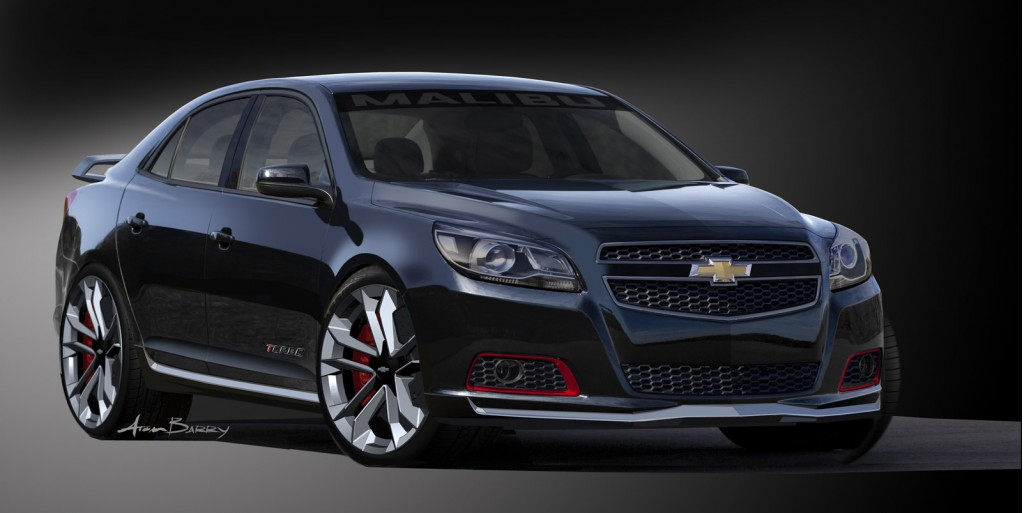 Chevrolet Malibu Turbo Performance 2017 Sema Concept