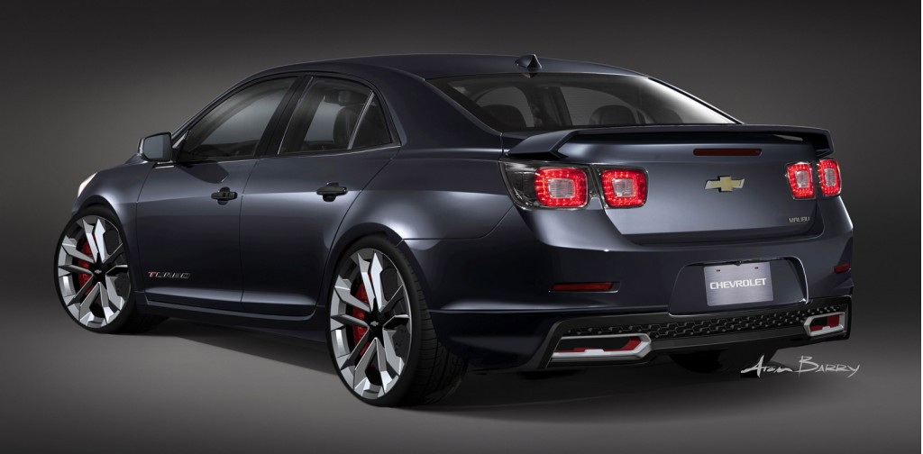 Image: Chevrolet Malibu Turbo Performance 2012 SEMA concept, size: 1024 x 504, type: gif, posted ...