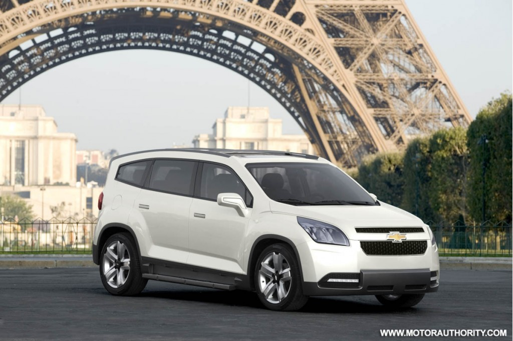 Chevrolet Orlando Concept Makes Official Debut