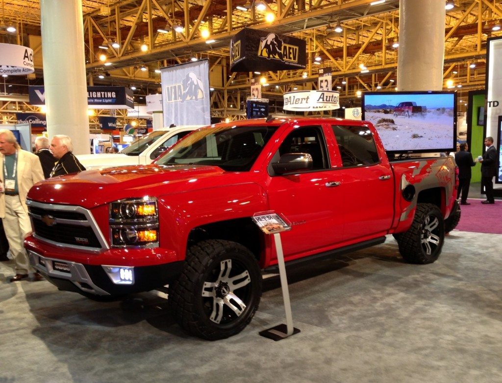 Truck chevy concept truck reaper : Image: Chevrolet Reaper from Lingenfelter and Southern Comfort ...