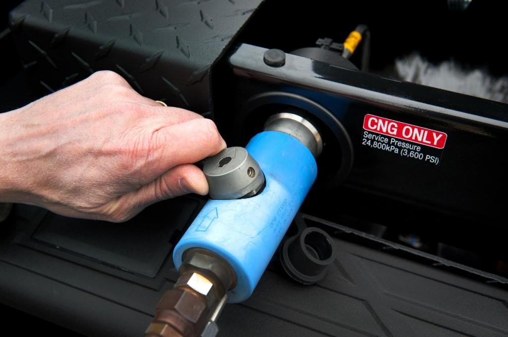 2013 Chevrolet Silverado 2500 HD bi-fuel (natural gas & gasoline) pickup truck