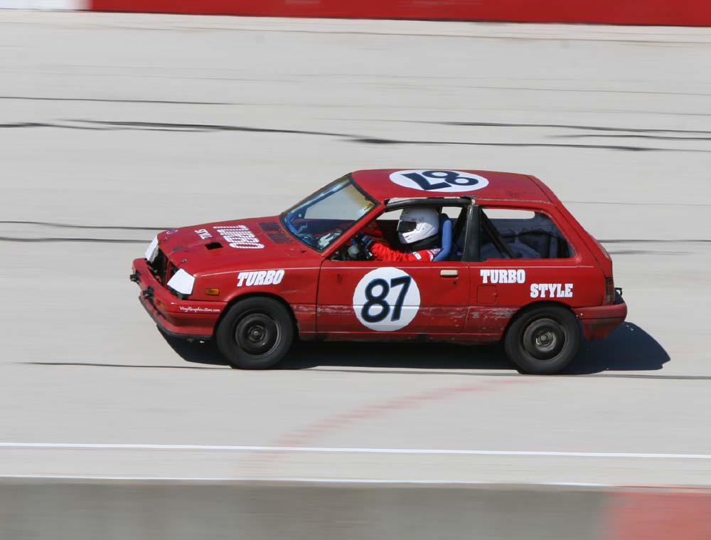1987 chevy sprint turbo specs