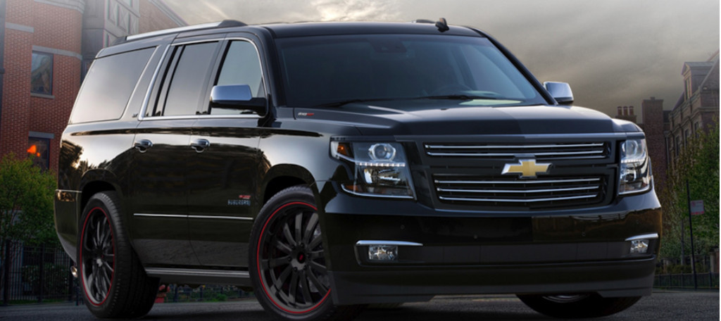 Chevrolet Suburban 1,000-hp from SVE