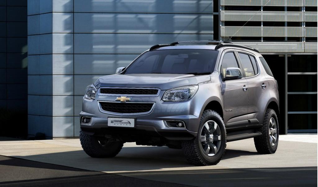 2013 Chevrolet TrailBlazer Revealed In Production Trim