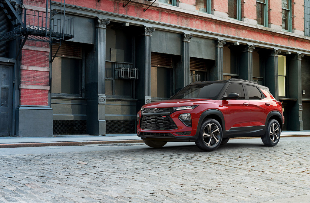 2021 Chevrolet Trailblazer crossover revealed: Small ...