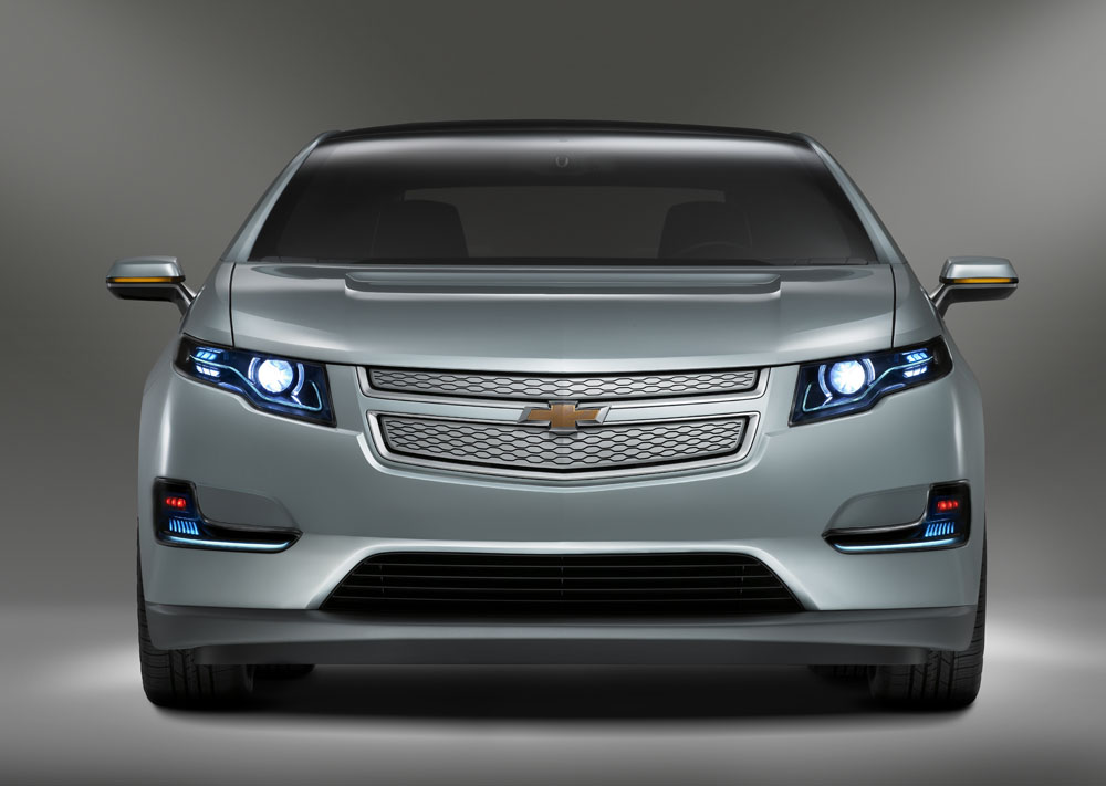 GM Paves Way For Chevy Volt Infrastructure At D.C. Auto Show