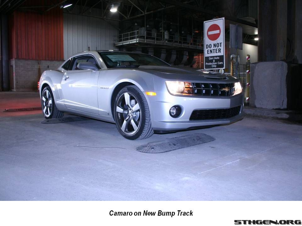 2010 Chevrolet Camaro Rolling Off Oshawa, Ont. Assembly Line