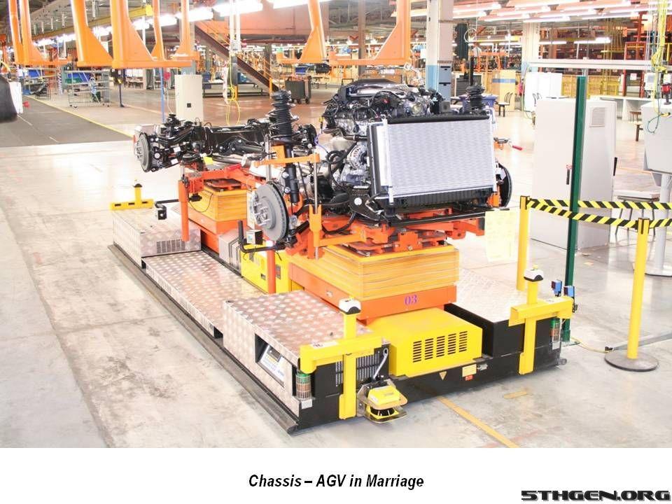 2010 Chevrolet Camaro Assembly Line