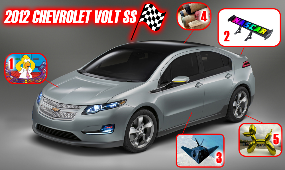 2012 Chevrolet Volt SS: First Peek!