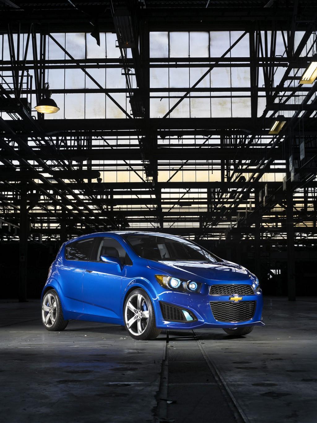 2011 Chevrolet Aveo (RS Concept, 2010 Detroit Auto Show)