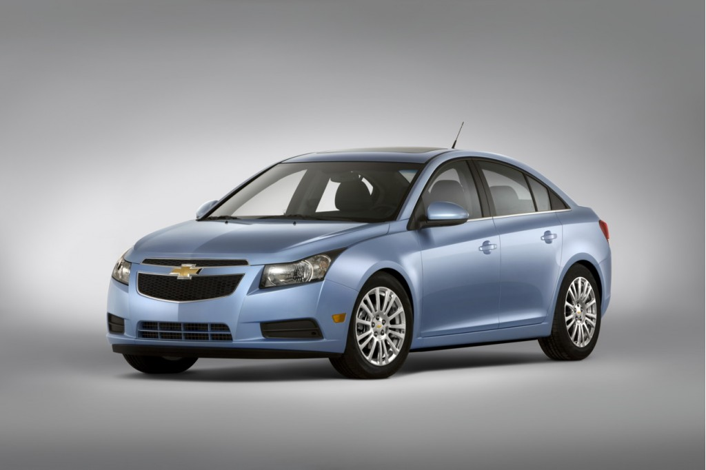 2011 Chevrolet Cruze Makes The Global Safety Honor Roll