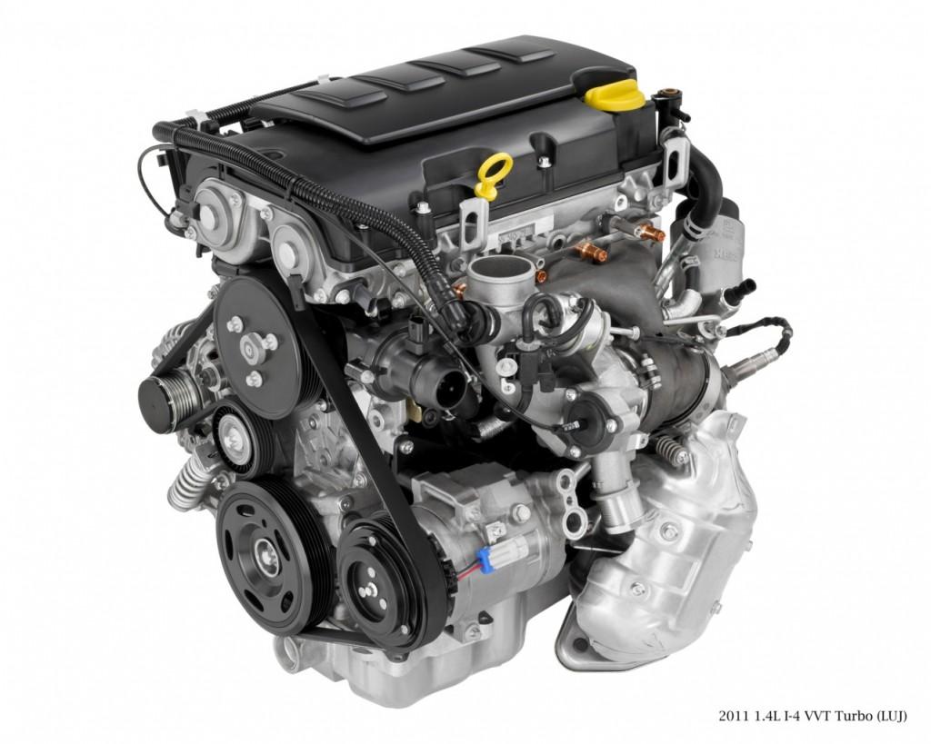 2011 Chevrolet Cruze 1.4T Ecotec engine