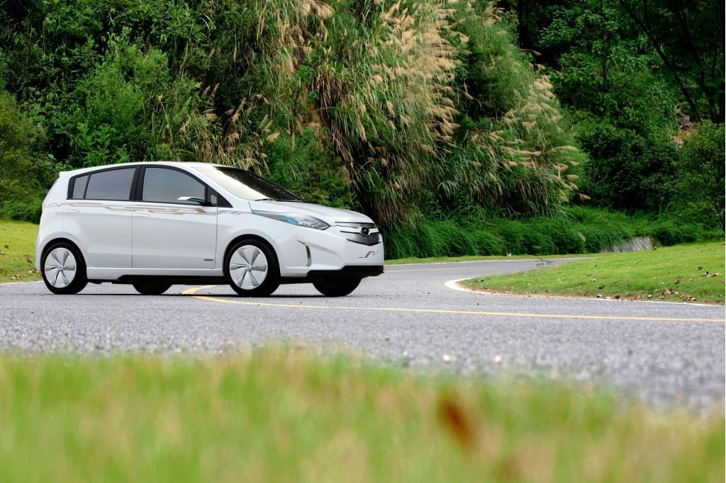 Chevrolet Sail Electric Concept Vehicle