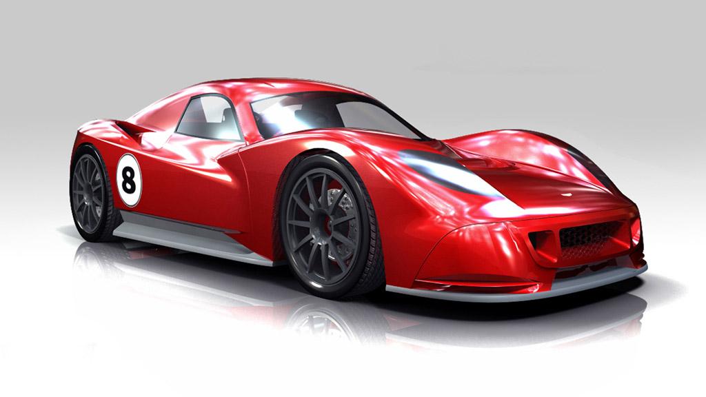 Chevron Gr Race Car Prototype L