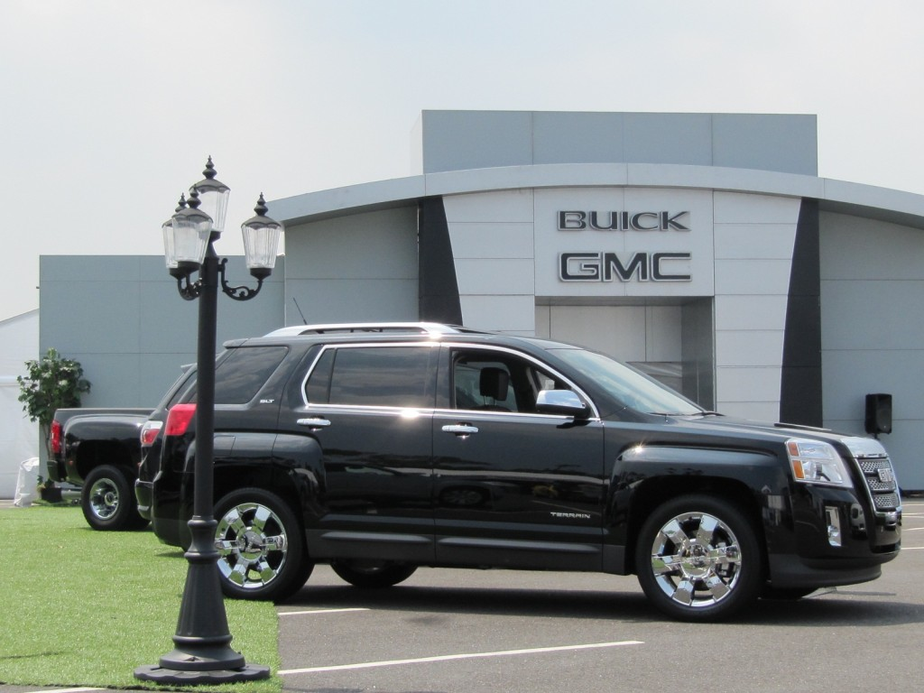 Chevy, Buick, and GMC 'Main Street in Motion' drive event, CitiField, NYC, June 2011
