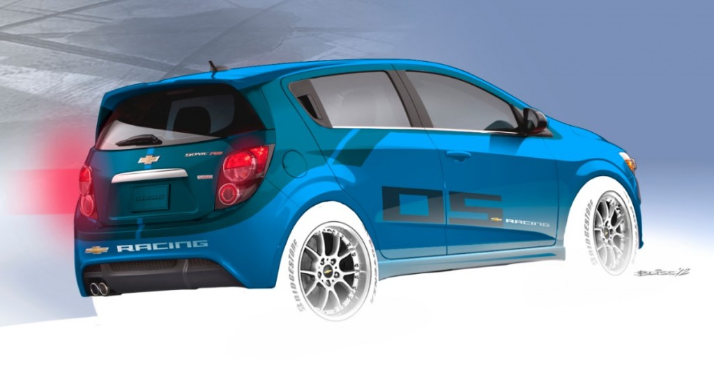 Chevy's B-Spec Sonic SEMA concept